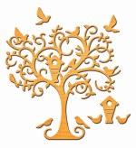 Spellbinders Delightful Tree