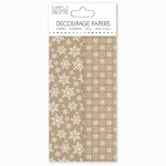 Decoupage Papers Kraft S'flake
