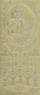Outline Communion Girl's Gold*