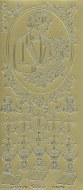 Outline Communion Boy's Gold