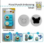 Nellie Snellen embossing Punches Butterfly small
