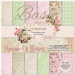 Paper Pk 12x12 LC Basics House of Roses