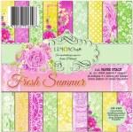 Paper Pk 6x6 LC Fresh Summer
