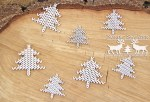 Chipboard Nordic Sweater Trees