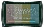 Stamp Pad Encore Metal 4pk