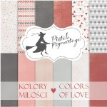 "Paper Pk 12x12"" Piatek Colours Love"