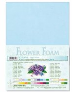 Flower Foam Light Blue