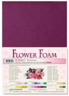 Flower Foam Bordeaux