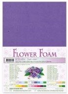 Flower Foam Dark Violet
