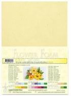 Flower Foam Light Yellow