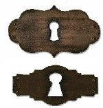 Sizzix Movers & Shapers Magnetic Dies By Tim Holtz 2/Pkg Keyholes
