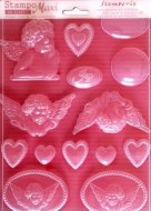 Stamperia Soft Moulds Angels & Hearts