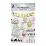 Stickers Little Birdie Wcolour Birthday