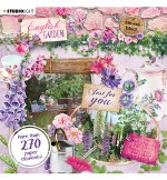 Studiolight Die Cut Book English Garden Nr.659