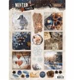 Studiolight Easy 3D A4 Precut Winter Trails No. 628