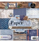 "Paper Pad 6x6"" StudioLight Denim Saturdays No.103"