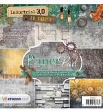 """Paper Pk 6x6"""" StudioLight Industrial 3.0 No.101"""