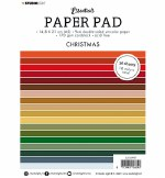 Studiolight SL Paper Pad Double Sided Unicolor Christmas Essentials Nr.7