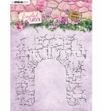 StudioLight Clear Stamp Background English Garden Nr.434
