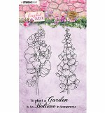 Clear Stamp Studiolight A6 English Garden Nr.432