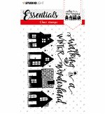 Clear Stamp A6 Studiolight Stamp Essentials Nr. 393 Winter Wonderland
