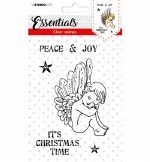 Clear Stamp A6 Studiolight Stamp Essentials Nr. 413 It's Christmas Time
