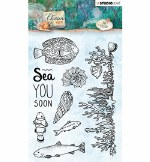 Clear Stamp Studiolight Ocean View Nr.369