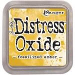 """Distress Oxide Pad 3x3"""" Fossil Amber"""