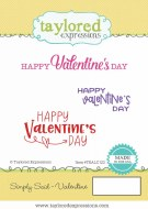 Cling Stamp Valentines Day 3pk