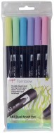 Tombow Brush Pen Pastel 6 pack