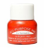 Tsukineko All Purpose Ink - Poppy Red