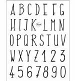 Clear Stamp Viva Alphabet 155