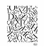 Viva Decor Allover Letters / Buchstaben Allover