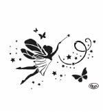 Stencil A4 Viva Fairy