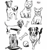 Clear Stamps Viva Dogs