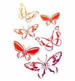 Stencil A4 Viva Butterflies