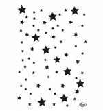 Stencil A4 Viva Xmas Stars