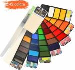 Watercolour Set 42pk Colours