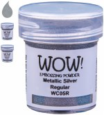 Wow! Emboss Powder 15ml Ultra High Metallic Silver
