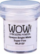 Wow! Emboss Powder 15ml Superfine White