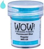 Wow! Emboss Powder 15ml Regular Fluorescent Blue