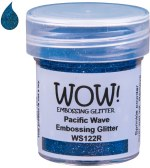 Wow! Emboss Powder 15ml Regular Pacific Wave