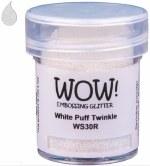 Wow! Emboss Powder 15ml Regular White Puff Twinkle