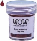 Wow! Emboss Powder 15ml Regular Ruby Romance