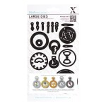 XCut Dies - Chronology Pocket Watch (large) 21 pieces