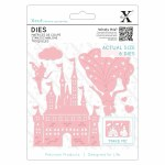 Xcut Die (6pcs) Princess & Castle
