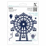 Xcut Die (4pcs) Ferris Wheel