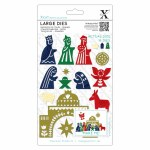 Xcut Dies Large Nativity^