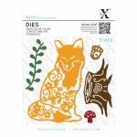 XCut Dies (5pcs) Filigree Fox