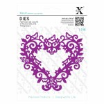 XCut Dies (1pc) Filigree Heart Frame